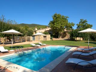 Idyllic apartment with pool and views near Girona - Cartella vacation rentals