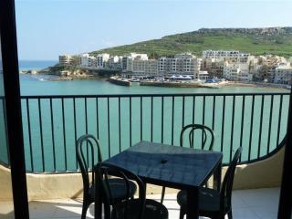 3 bedroomed Seafront Apartment enjoying elevated breathtaking views of Marsalforn Bay - Malta vacation rentals