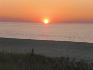 Beachfront living - your morning view... - Belmar vacation rentals