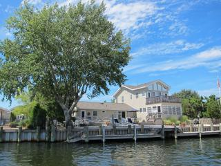 Lagoon Front with bay views - 6 BR  Loveladies LBI - Harvey Cedars vacation rentals