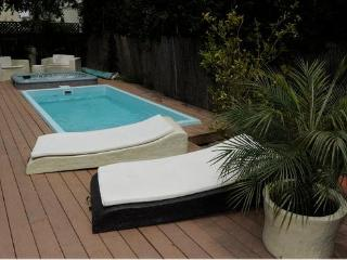 guest house with Pool/Spa, hollywood sign view! Central LA - Los Angeles County vacation rentals