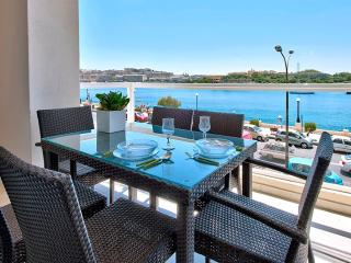 Astounding Views Tigne Seafront 4-bedroom Ap - Malta vacation rentals
