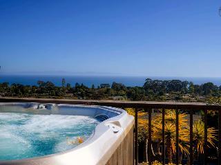 Panoramic ocean view home with hot tub in Mesa - Blue Horizon - Santa Barbara vacation rentals