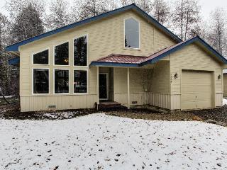 Home for 6 w/private beach; 2 car garage; patio - McCall vacation rentals