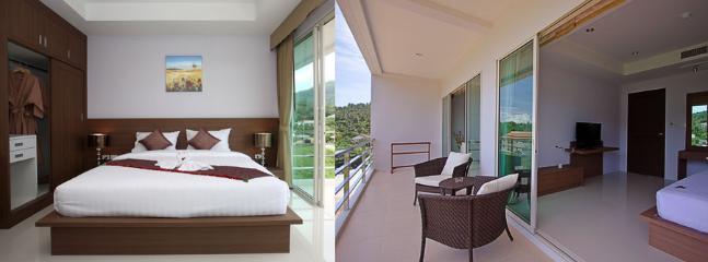 Bedroom / balcony - Bangtao Beach One Bedroom Apartment - Thalang - rentals