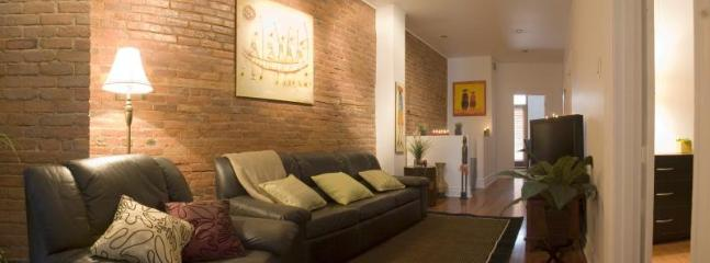 Living Room - JUST RELISTED - Gorgeous 3B + 1 Plateau! - Montreal - rentals