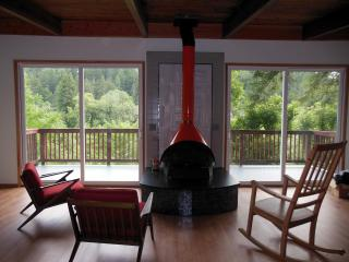 Redwood Butterfly Cabin Riverfront Canoe Included - California Wine Country vacation rentals