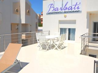Modern Beachfront Apartment (1) - sleeps 6+2 - Island Pag vacation rentals