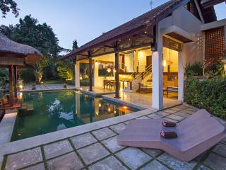 Lembah,lux 2 bed villa,2100sqm river view,Nr Sanur - Ketewel vacation rentals