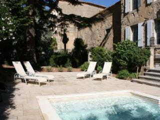 Manoir Theron - Huge family friendly maor house with courtyard and pool - Pepieux vacation rentals