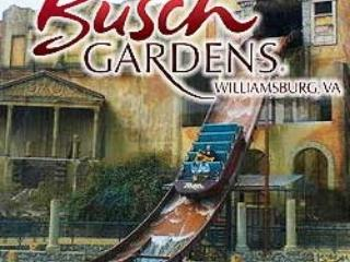 Visit Busch Gardens -Enjoy Old World Europe - July 17-24 -Williamsburg (Busch  Grd- Water Cntry - Williamsburg - rentals