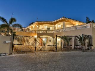 Luxury 4 bedroom villa with infinity pool, jaccuzi, gym and breathtaking views - Willemstad vacation rentals