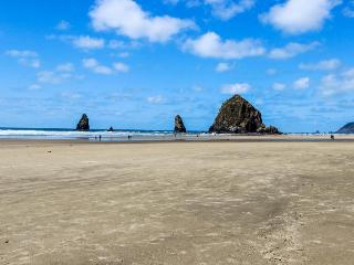 Pet-friendly, comfy cabin only two blocks from the beach! - Cannon Beach vacation rentals
