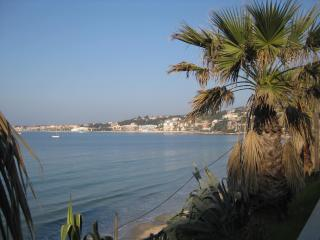 Direct access sandy beach, apartment view on sea - Sanary-sur-Mer vacation rentals