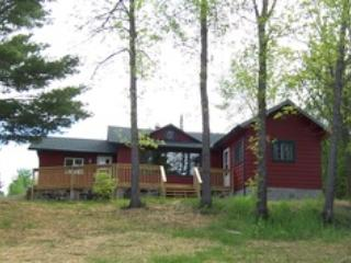 cabin 5, located very close to the lake, has a wonderful deck and view - Birchwood On Kabetogama - Kabetogama - rentals
