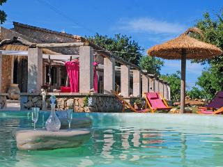 Amazing rocky waterfall pool villa - Buger vacation rentals