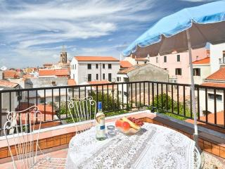Spectacular terrace with seaview in old town - Alghero vacation rentals