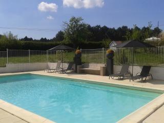 Big  farmhouse- big pool-Pizza oven-Courtyard- BBQ - Jaure vacation rentals