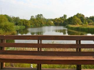 House with private stocked fishing lake - English vacation rentals