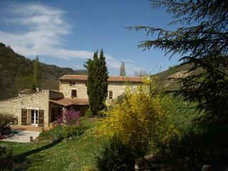 luxury farmhouse, pool, romantic grounds/views - Bouriege vacation rentals