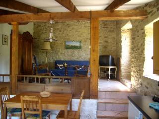 charming stone house, big pool, romantic grounds - Bouriege vacation rentals