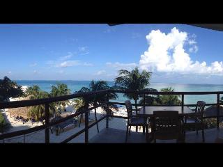 On the Beach - Ixchel Condo- 4th Floor Ocean Front - Isla Mujeres vacation rentals