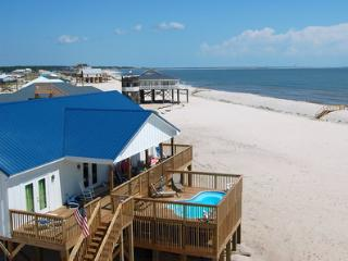 Island Time II - Great Gulf views and a Private Pool, too! 4 Bedroom House on the Gulf - Dauphin Island vacation rentals