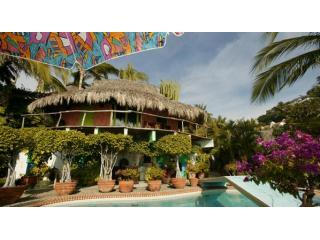 PEPESpool - Pepes Hideaway- #1 in Primitive Sophistication - Manzanillo - rentals