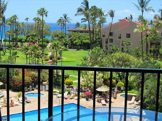 2B/2B ocean view unit by the pool and across the street from Kamaole III. - Kihei vacation rentals