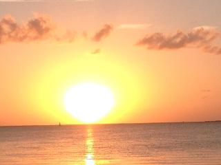 Beautiful sunsets and view of bay and boats - Key Largo vacation rentals