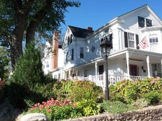 URBAC - Gracious Renovated Sea Captains Home, Perfect In-town Location,  Private Pation Area, Large Wrap Around Porch - Vineyard Haven vacation rentals