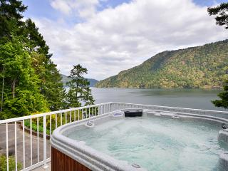 Spectacular Victoria Area Ocean Front Estate with Hot Tub and Private Dock - Victoria vacation rentals