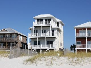 Piper's Nest:  6 BR Gulf Front on Cape San Blas with community pool - Cape San Blas vacation rentals
