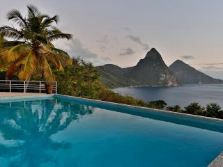 4 Bedroom/4 Bathroom Villa House in St Lucia - Soufriere vacation rentals