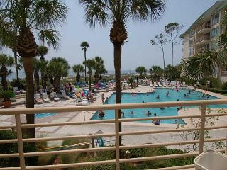 1101 Villamare-1st floor villa overlooking pool/ocean. - Hilton Head vacation rentals