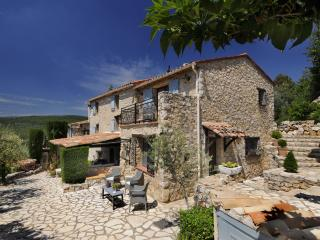 Unique Holiday, 1 Bedroom 19th Century Stone Farmhouse Villa, Mas Du Bois Doré - Mons vacation rentals