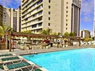 Studio unit with large 116 sq. ft. balcony. Upgraded with extended kitchen! - Honolulu vacation rentals