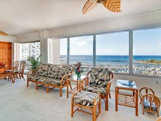 Rarely Available Sweeping Ocean View 2BR Ilikai Condo with Tons of Amenities! - Honolulu vacation rentals