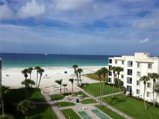 Palm trees, white sand, and the crystal blue waters - 17 South - Siesta Key vacation rentals