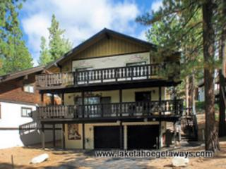 Exterior-FrontView2 - The Tyrolian Hideaway - South Lake Tahoe - rentals