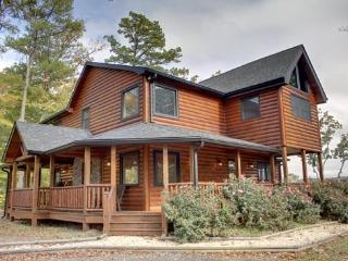 LONESOME DOVE-3BR/3BA-WESTERN THEMED CABIN, MOUNTAIN VIEW, GAS GRILL, WIFI, PAVED ROADS, POOL TABLE, WET BAR, FLAT SCREEN TV`S, GAS & WOOD BURNING FIREPLACES! STARTING AT $200 A NIGHT! - Blue Ridge vacation rentals