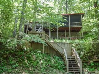DEEPWATER LODGE*4 BEDROOM~2 BATH~DOCK ON LAKE BLUE RIDGE~~WIFI~WOOD BURNING FIREPLACE~SCREENED PORCH~POOL TABLE~HOT TUB~ONLY $18 - Mineral Bluff vacation rentals