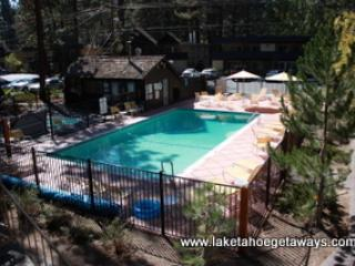 Pool Complex Overview - Irving's Bavarian Village - South Lake Tahoe - rentals