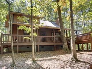 Mountain Haven~Wooded setting on 2.8 acres with seasonal mountain view, Indian Bent Trees on property, king bed in master suite, - Blue Ridge vacation rentals