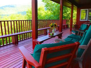 Best views in Vermont! Fireplace, deck, ski, pool - Manchester vacation rentals