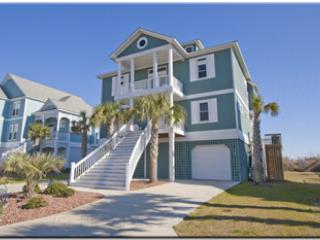 Main View - New River Inlet Rd 756 Oceanfront! | Private Heated Pool, Hot Tub, Elevator - North Topsail Beach - rentals