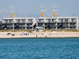 Shipwatch II 223 Oceanfront! | Community Pool, Internet - North Topsail Beach vacation rentals