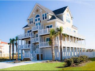 New River Inlet Rd 764 Oceanfront! | Private Heated Pool, Hot Tub, Elevator, Jacuzzi, Internet, Fireplace - North Topsail Beach vacation rentals