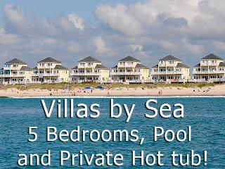 Villas Drive 868 Oceanfront! | Community Pool, Hot Tub, Elevator, Jacuzzi, Internet - North Topsail Beach vacation rentals