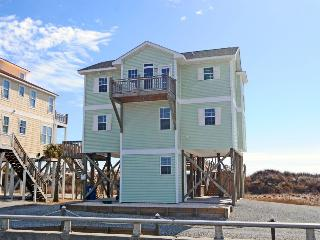 New River Inlet Rd 1316 Oceanfront! | Internet, Fireplace - North Topsail Beach vacation rentals
